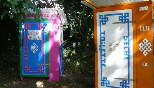 Les toilettes sèches de la Cie Ulzi