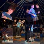 """Atelier cirque organisé par """"Un copain comme les Autres"""" et l'IME de Blain"""