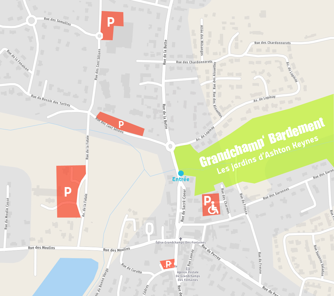 plan parking festival GB