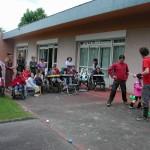 Atelier jonglage à l'IEM La Buissonnière de La Chapelle-sur-Erdre